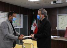 مدیرکل حراست شهرداری کرج منصوب شد + گزارش تصویری مراسم معارفه