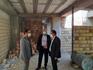 بازدید مدیرکل فرهنگ و ارشاد اسلامی استان البرز از روند احداث ساختمان خانه مطبوعات البرز