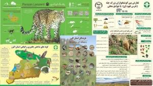 پوستر اینفوگرافی تنوع زیستی و جانوری استان البرز در فضای مجازی منتشرشد
