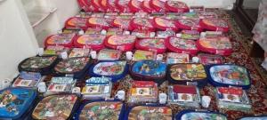 توزیع ۷۰۰ بسته اقلام آموزشی بین دانش آموزان البرز