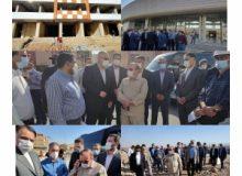 نماینده مجلس همراه با مدیران شهری از پروژه های شهرجدیدهشتگرد بازدید کرد