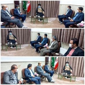 دیدار شهردار جدید شهر نظرآباد و اعضای شورای اسلامی با حجت الاسلام موسوی