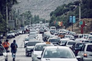 ترافیک سنگین در خروجیهای البرز