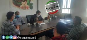بازدید رئیس اداره صمت شهرستان ساوجبلاغ از اتحادیه نانوایان