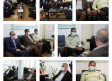 دیدار مدیرعامل شرکت عمران شهرجدید هشتگرد با فرمانده ناجا در شهرستان ساوجبلاغ