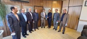تقدیر از میثم اویسی رابط قرآنی اداره کل تامین اجتماعی استان البرز