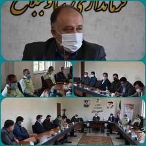 جلسه هماهنگی بزرگداشت هفته نیروی انتظامی درشهرستان ساوجبلاغ