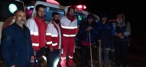 نجات سه طبیعت گرد در ارتفاعات طالقان