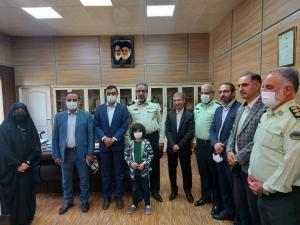 رئیس و اعضای شورا از ستاد فرماندهی انتظامی البرز دیدار کردند