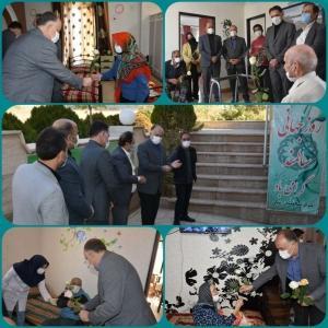 بازدید فرماندار شهرستان ساوجبلاغ از آسایشگاه سالمندان در شهرجدیدهشتگرد