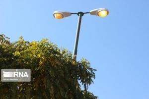 نصب ۱۰ هزار چراغ کم مصرف برق در معابر البرز