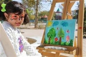 خاطره سازی کودکان هنرمند کرجی، در هفته ملی کودک