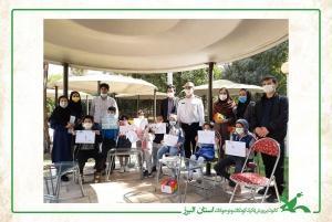 حضور مربیان هنری کانون در جشنوارهی نقاشی آموزش قوانین راهنمایی و رانندگی به کودکان