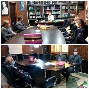 دیدار ریاست اداره صمت شهرستان طالقان با شهردار