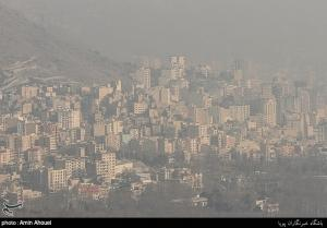 """کیفیت هوای """"کرج"""" و """"ساوجبلاغ"""" در شرایط هشدار قرار گرفت"""