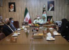 دیدار  مدیرکل تعاون،کارورفاه اجتماعی استان با معاونت امور اجتماعی نیروی انتظامی البرز