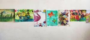 افتتاح نمایشگاه نقاشی بمناسبت هفته کودک