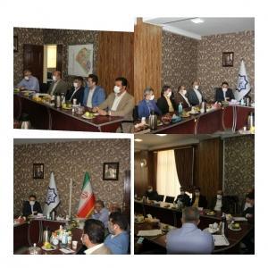 جلسه مشترک شهرداری،شرکت عمران و شورای اسلامی برگزار شد