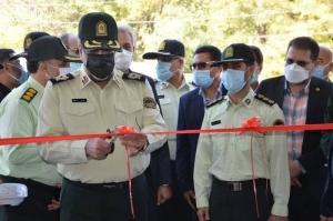 آیین افتتاحیه ساختمان جدید کلانتری ۲۵محمدشهر با حضور سردار محمدیان در هفته ناجا