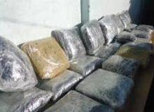 دستگیری ۲ قاچاقچی مواد مخدر با ۹۱کیلو تریاک