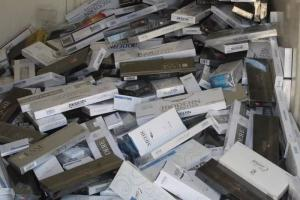 شناسایی انبار دپو ۳ میلیون نخ سیکار قاچاق در البرز