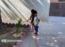 کودک همیار طبیعت در البرز