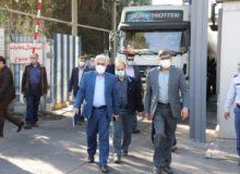 بازدید مدیر عامل وهیئت مدیره شرکت ملی پخش فرآورده های نفتی ایران ازمنطقه البرز