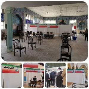 افتتاح سی و ششمین پایگاه تجمیعی واکسیناسیون کووید ۱۹ در استان البرز