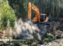 آزادسازی ۵۰۰ هزار مترمربع از اراضی کشاورزی آسارا