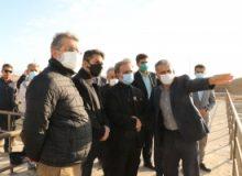 بازدید دادستان استان البرز از عملیات اجرایی تصفیه خانه فاضلاب کرج